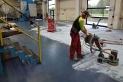 Reinigung und Vorarbeiten